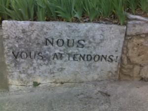 Humour dans un cimetière