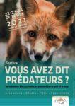 """Festival """"Vous avez dit prédateurs?"""", 22-24 octobre, Lons le Saunier"""